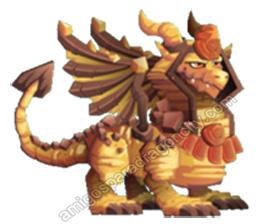 imagen del dragon esfinge