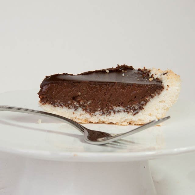 coconut, chocolate, pie