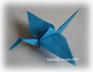 Papier falten, Vogel, Mobile