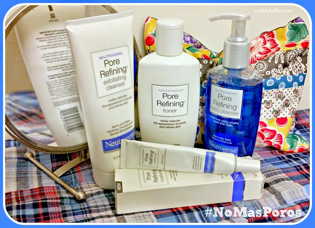 beauty, skincare, beauty, pore refining, no mas poros, latina blogger, visible poros,