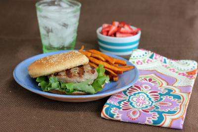 Mrs. Regueiro's Plate: Favorite Turkey Burger
