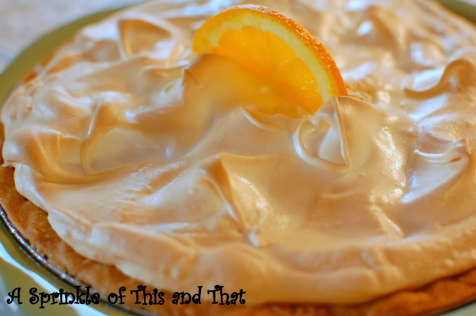 orange meringue pie oh my gosh you have no idea