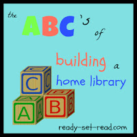 home library, literacy, picture books, ready set read, image