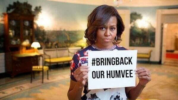 http://www.thegatewaypundit.com/2014/06/isis-supporters-mock-michelle-obama-bringbackourhumvee/