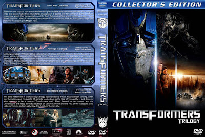 Transformers trilogy DVD