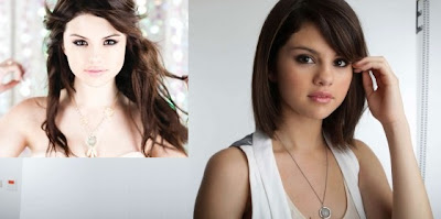 silver necklace selena gomez