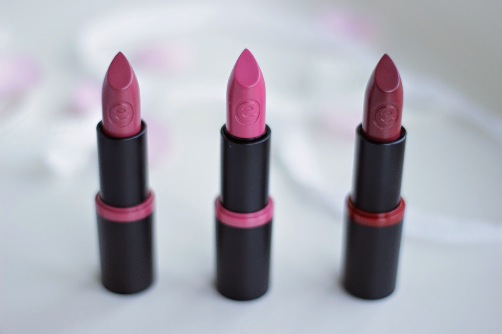 review essence longlasting lipsticks
