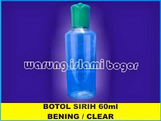 Botol PET Sereh 60ml