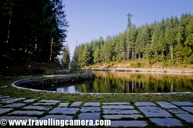 The Tani Jubber Lake is placed among the scenic  surroundings of Thanedar nearly 4 kilometers. Here is a quick Photo Journey to the real place in Himalayas !!!Thanedar has a very special place in the history of Himachal Pradesh, INDIA. The first apple sapling was planted here in Kotagarh near Thanedar... Kotgarh is 15 km. from Narkanda which is a famous hill station for its Apple, Apricot Orchards that are found all over the area. During this trip we also enjoyed fresh Apples and Apricots from Kotgarh... One of our friend borough all that stuff from his home in kotgarh !!! The beautiful Tani Jubber lake lies between the snow-covered mountains in the backdrop of lusting greenery and apple orchards... Soon I will be sharing some photographs from a Orchard-house where we stayed at Tani Jubber !!!Tani Jubber is mainly surrounded by high cedars but   surrounding village overlooks the enchanting valleys and on a clear day Himalayan snow peaks as well are visible. The place is surrounded by dense forests and is very picturesque in appearance.Tani Jubber Lake is the home for many kinds of birds. During winters one can see very colorful birds in different shapes and sizes...The lakeside is famous for the Nag-Devta temple in Thanedar, where many devotees offer their prayers to the serpent god.There is another local temple on the side of the lake, which is open to only locals... A fair takes place at the lakeshore during the month of June, which attracts many people... Local artisans and craftsmen display their products and artisan mastery during this fair...There are many places around Tani Jubber lake where tents can be installed to enjoy wild nights of Himalyas :) ... There is a government school near Tani Jubber lake with a huge ground and many times various adventurous groups take appropriate permissions to install there tents during the night and  clean up the space before school starts...An old man walking around Tani Jubber Lake near Thanedar, Shimla, Himachal Pradesh.