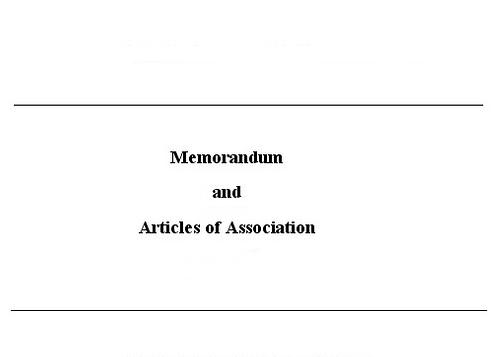 comparison between article of association and memorandum of association essay Memorandum of association vs articles of association memorandum of association and articles of association are documents that are very important to know about a company in detail, and together they form the constitution of a company.