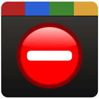 Google+ delete account icon