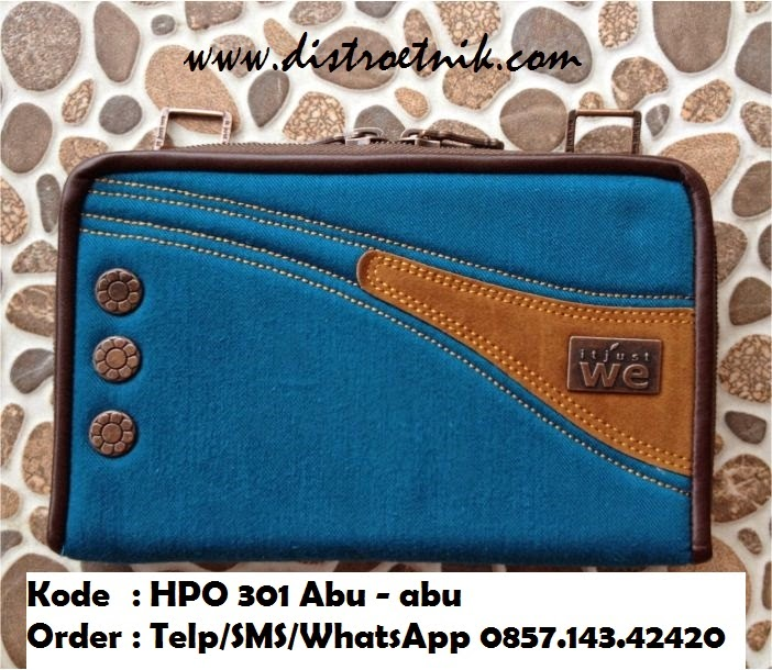 dompet hpo bahan jeans it just we