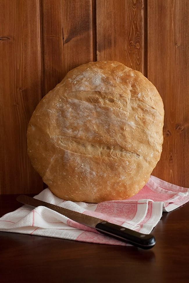 Dit i fet cuina. Recepta de pa de pagès o pa rústic