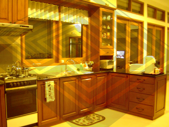 labyrinth design and build kitchen set at sukahaji bandung