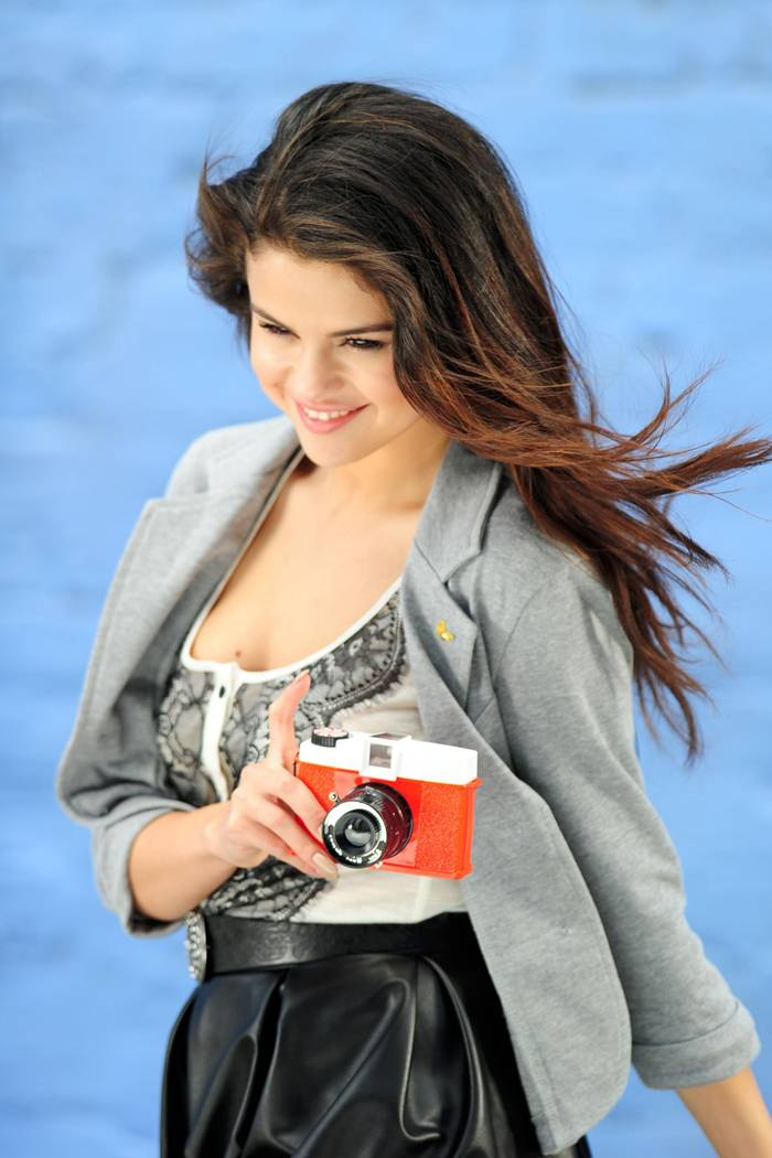 "Selena Gomez on ""Dream Out Loud"" Commercial Set in Santa Monica"