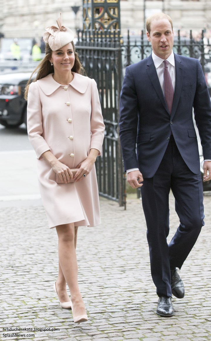 duchess kate kate pretty in pink for commonwealth