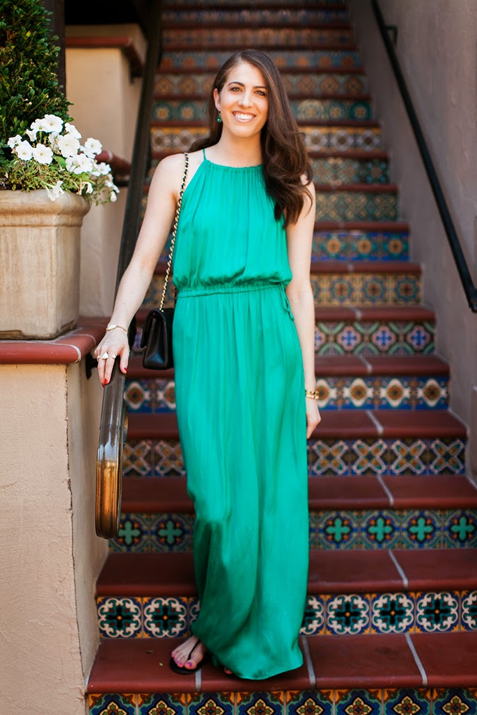 LOFT Tasseled Halter Dress Bistro 31