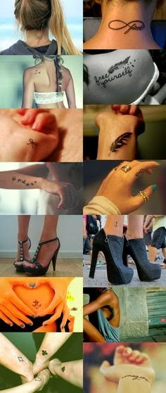 Best infinity love tattoo placements of all times
