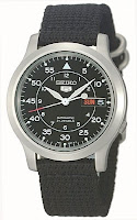 Seiko Men's SNK809 Seiko 5 Automatic Black