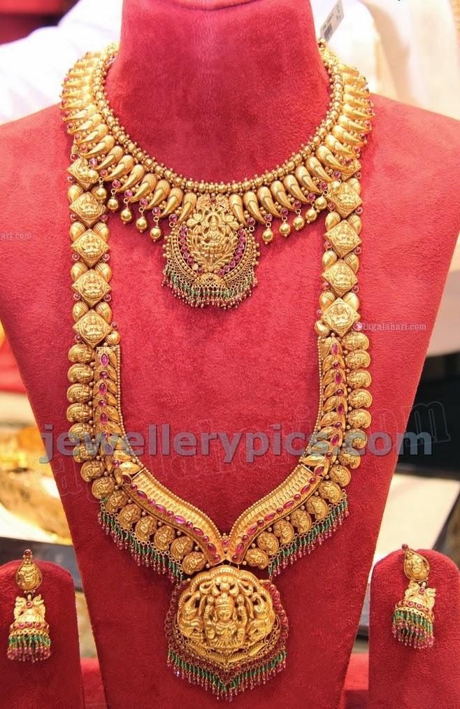 designer temple jewellery haram