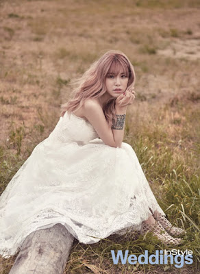 Hyo Sung - InStyle Weddings Magazine July Issue '15