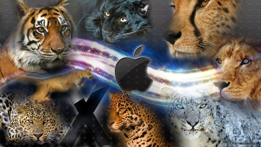 Mac OS X Lion sporting x icons x wallpapers