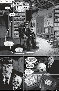 Page one of DeathCurse #1 from Lost Story Studio