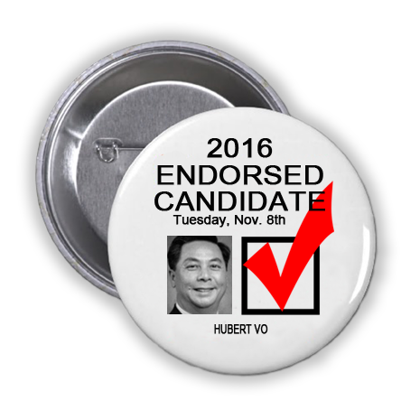 RACE FOR STATE REPRESENTATIVE, DISTRICT 149 -- Hubert Vo