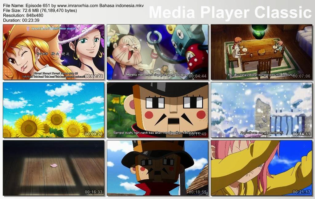 Download Film One Piece Episode 651 (Melindungimu Sampai Akhir! Rebecca dan Prajurit Mainan!) Bahasa Indonesia