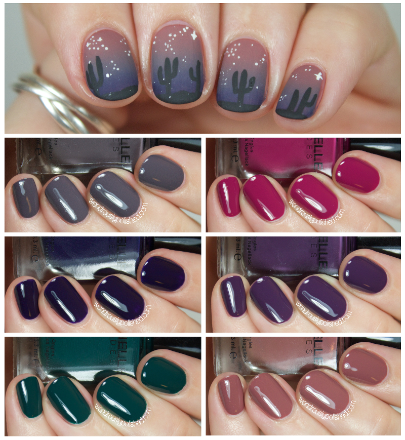 Wondrously Polished: Barielle Me Couture Fall 2014 - Swatches ...