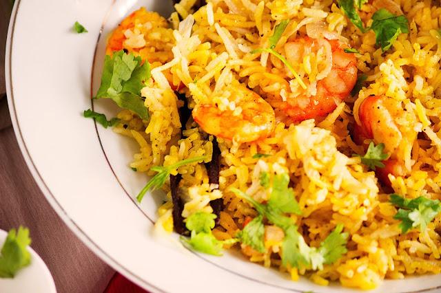 bengali shrimp pulao recipe