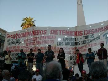 '30.000 compañer@s detenid@s desaparecid@s Presente!!!