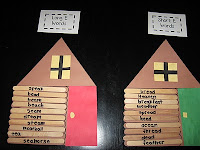 Log Cabin Word Sorting - Presidents Day activities for kids {Weekend Links} from  HowToHomeschoolMyChild.com