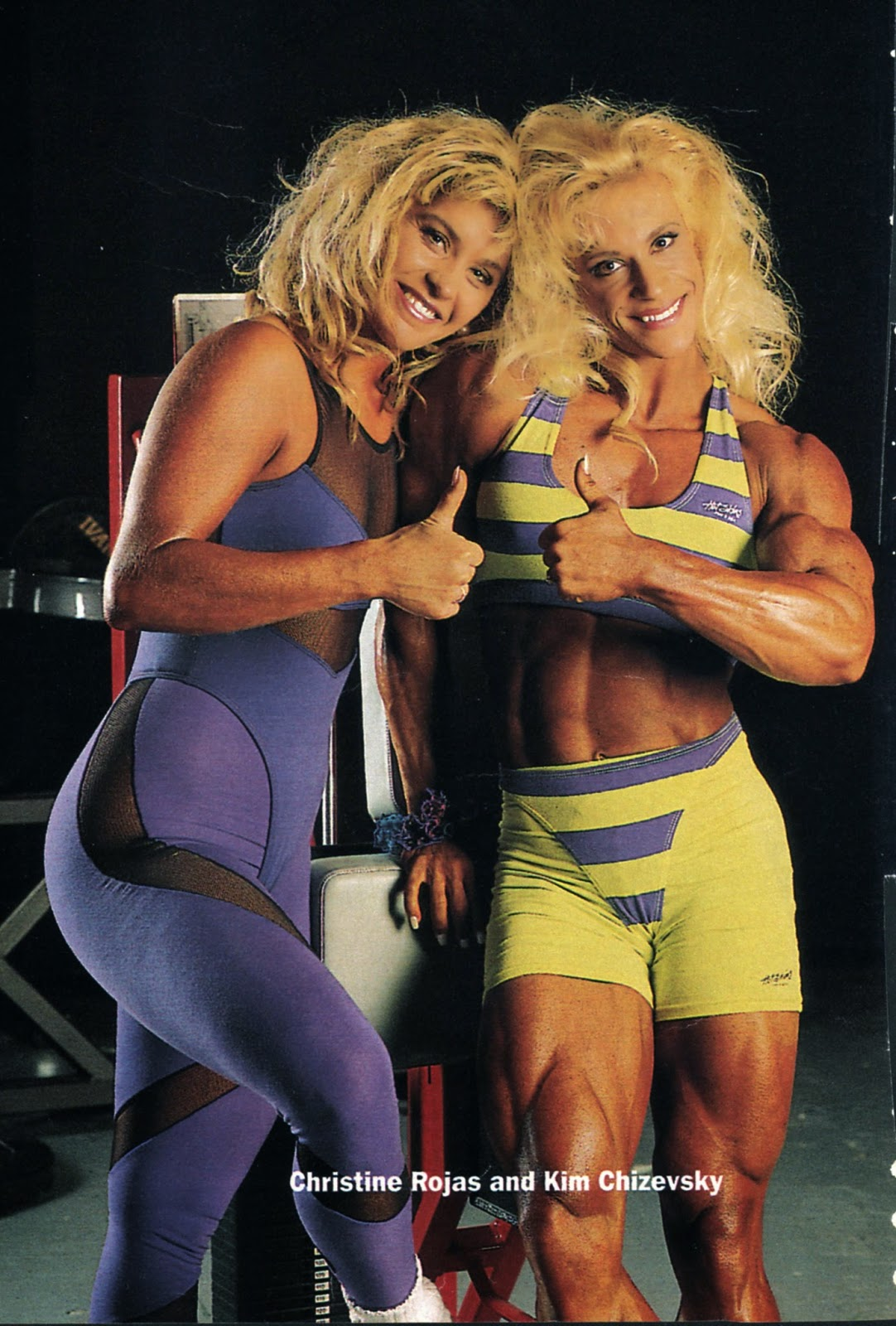 female steroid before and after