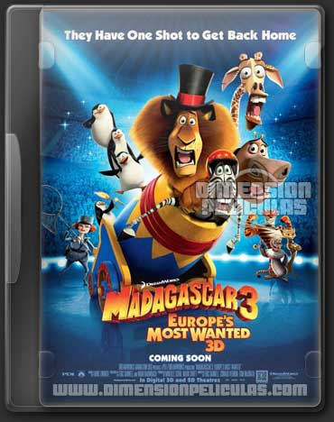 Madagascar 3 (DVDRip Inglés Subtitulado) (2012)