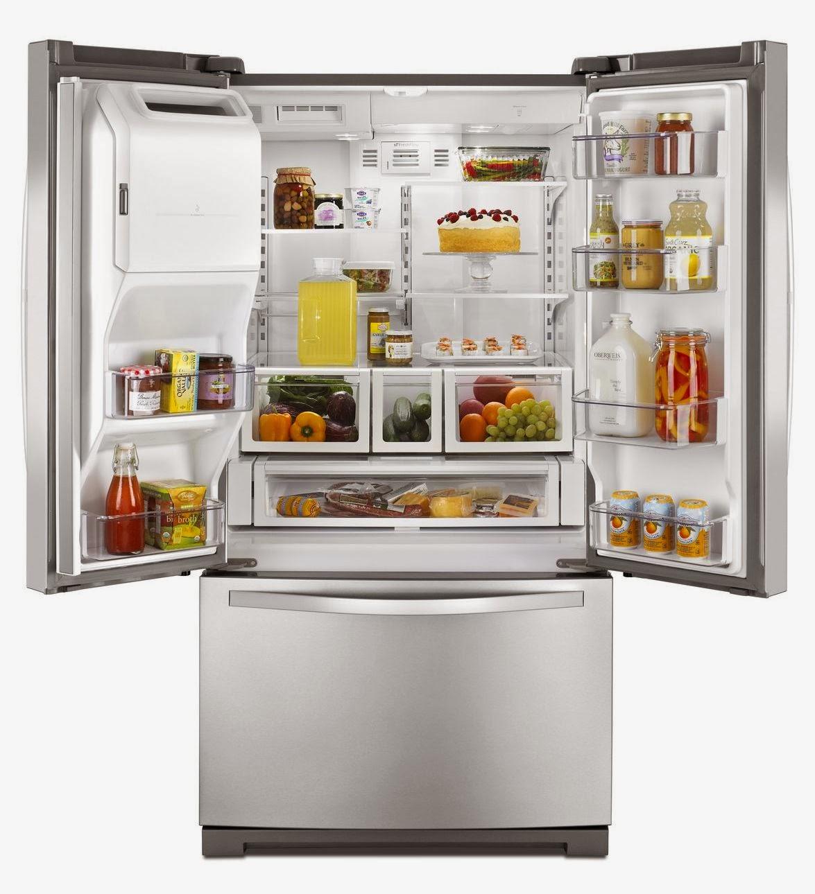 Whirlpool refrigerator brand stainless steel wrf736sdam refrigerator