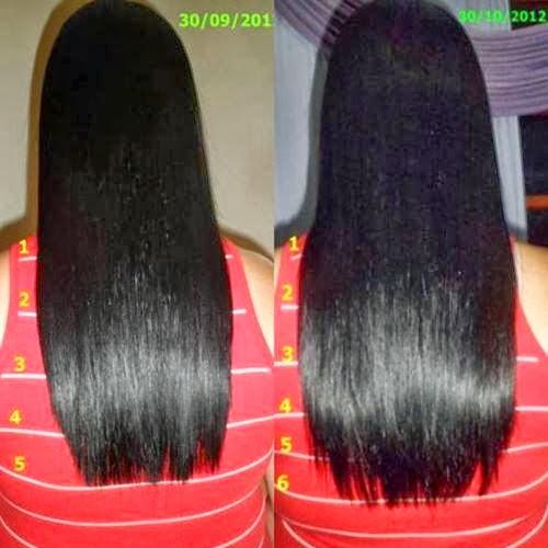 foto maior do cabelo da Juliana