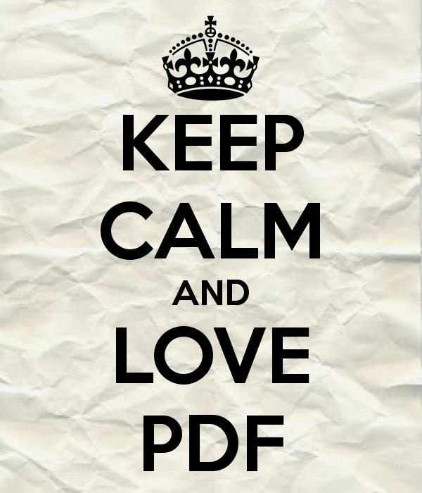 I ♥ PDF