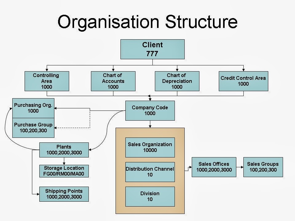 sap mm organizational structure pdf