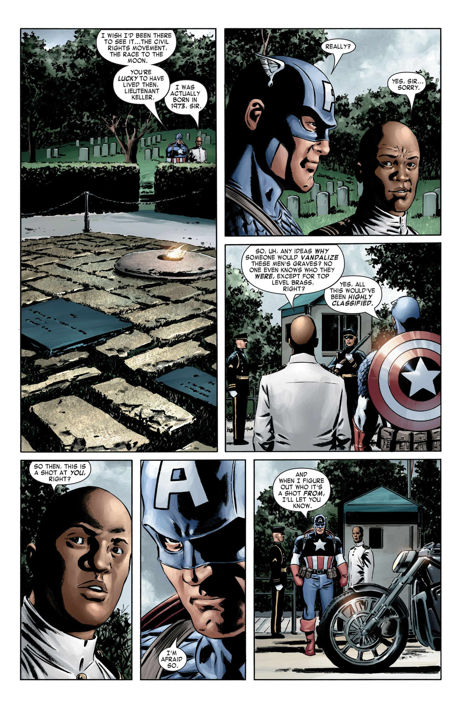 Captain America (2005) Issue #4 #4 - English 13