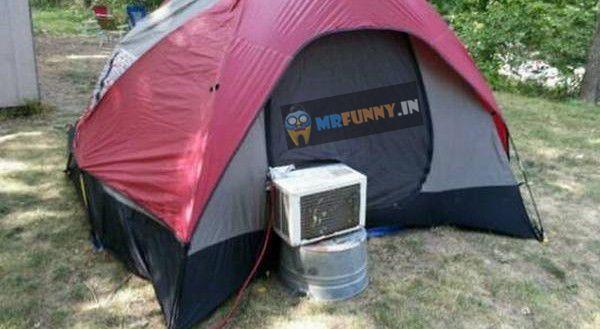 Camping Like A Boss Funny