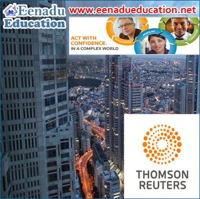 Thomson Reuters : Various Jobs