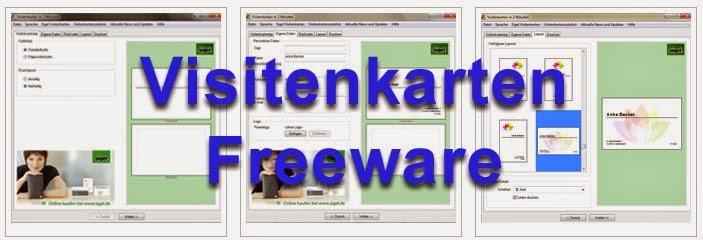 Freeware zum visitenkarten erstellen freeware kostenlos for Klassisches haushaltsbuch