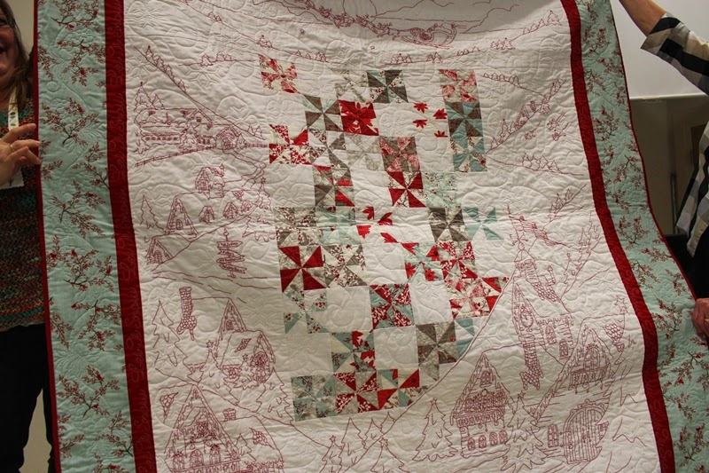The Raspberry Rabbits: Guild meeting show and tell : crabapple hill quilts - Adamdwight.com