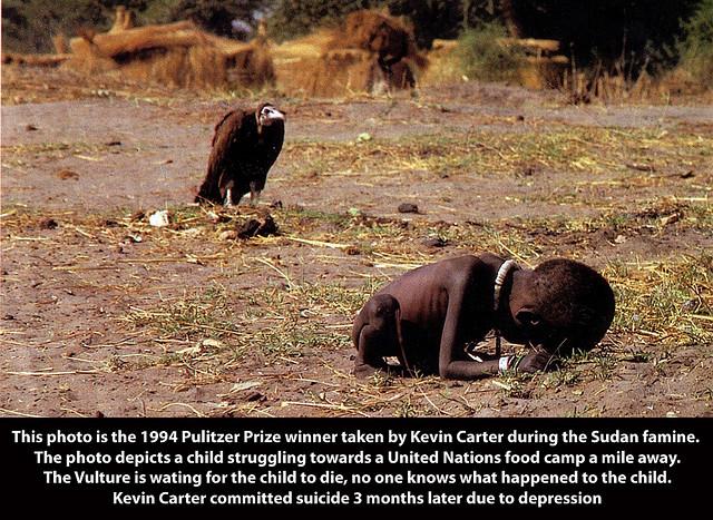 NewshAfrican Children Starving Vulture