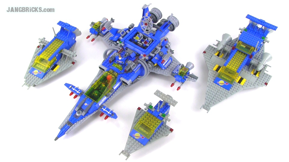 New Meets Old Bennys Spaceship Homages To Classic Lego