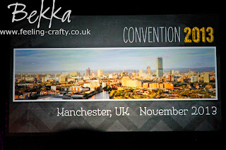 Bekka's Stampin' Up! 2012 Convention highlights - why not join her for the next one www.feeling-crafty.co.uk