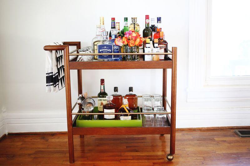 C mo armar decorar un carrito de bebidas el blog de sofi - Carrito bebidas ...