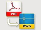 Program Gratis konversi PDF ke DWG