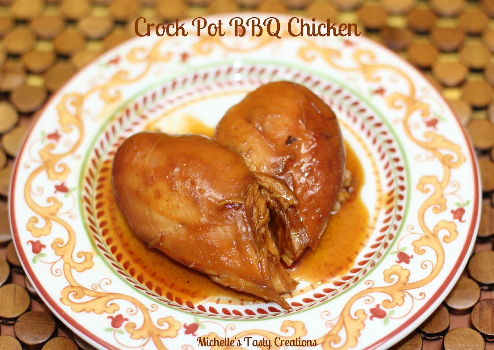how to cook bbq chicken in a crock pot